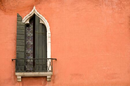 Traditional window of hotel at Piazza San Marco, Venice Stock Photo - 6225370
