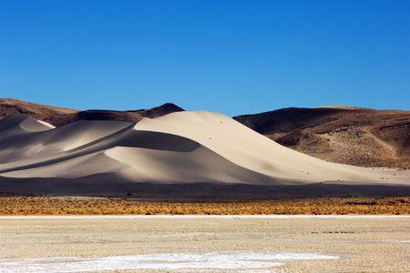 Sand Mountain recreation area along Route 50, Nevada photo