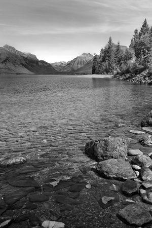 mcdonald: Lake McDonald, the largest lake in Glacier National park, Montana
