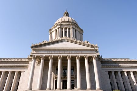 State Capitol (Legislative building) in Olympia, capital of Washington state