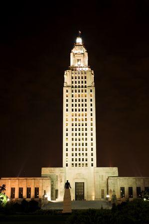 Capitolio estatal en Baton Rouge, capital del Estado de Louisiana, Estados Unidos