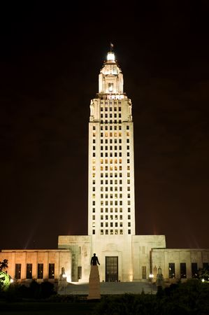 louisiana state: State Capitol in Baton Rouge, capital of Louisiana state, USA Stock Photo