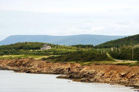 Cape Breton coastline, Nova Scotia, Canada photo