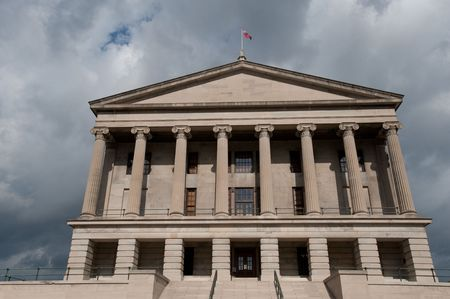 State Capitol in Nashville, capital of Tennessee state, USA Фото со стока