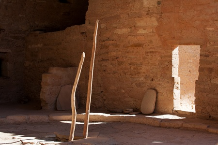 kiva: Kiva, a religious room, in Mesa Verde national park Stock Photo