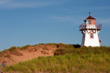 Covehead Lighthouse in Stanhope, PEI photo
