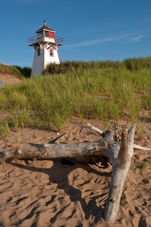 edward: Covehead Lighthouse in Stanhope, Prince Edward Island