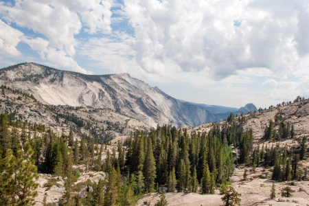 Olmsted Point of Yosemite National Park onTioga Road Stock Photo - 17740618