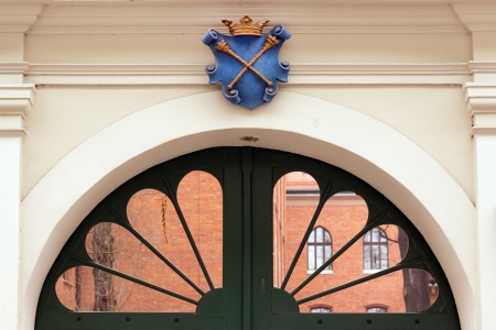 collegium: Gates to Collegium Maius in Jagiellonian University,  Krakow Editorial