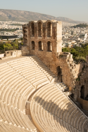 Odeon of Herodes Atticus on Acropolis Hill, Athens photo