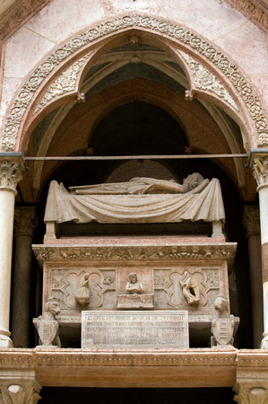 cemetry: Famous Scaliger Tombs of Verona rulers at Santa Maria Antica church
