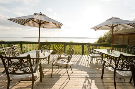 patio furniture: Mobilia del patio al caff� all'aperto, Nova Scotia