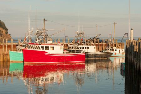 alma: Popular lobster fishing village Alma on New Brunswick coast