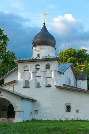 xvi: XVI century Resurrection on Stadische Church in Pskov, Russia