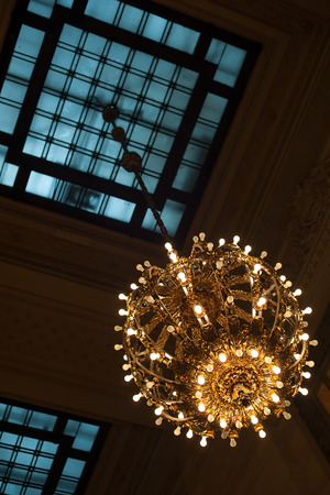 exquisite: Exquisite lamp inside Grand Central Terminal, NYC
