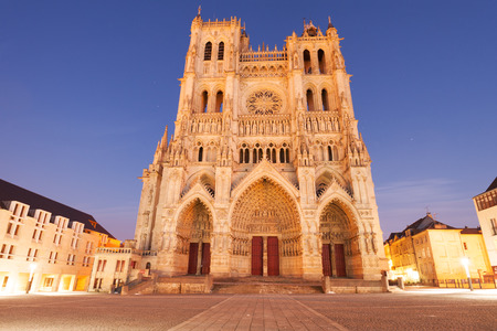 our: Famous Cathedral Basilica of Our Lady of Amiens, Picardy, France