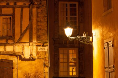 rentals: Ancient streets of Plantagenet city in downtown Le Mans, France