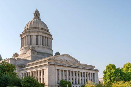 State Capitol (edificio legislativo) in Olympia, capitale dello stato di Washington, USA