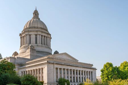 State Capitol (Legislative building) in Olympia, capital of Washington state, USA
