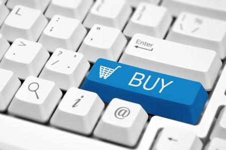 tecla enter: Cesta de la compra icono de botón de la llave de un teclado de computadora