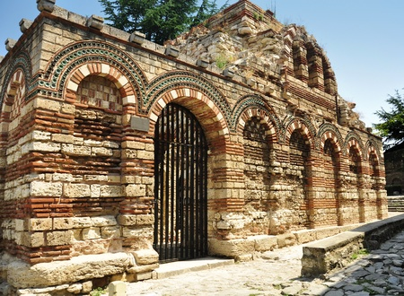 michael: Ruins of Church of the Holy Archangels Michael and Gabriel, Nesebar, Bulgaria