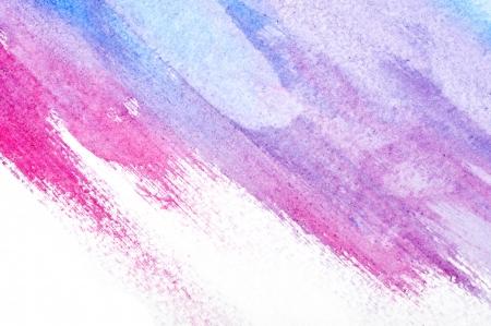 multilayer: El arte abstracto acuarela mano de pintura sobre fondo blanco