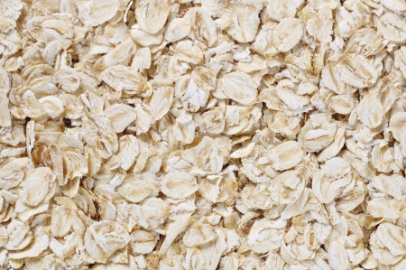 Texture of the  white oat flakes. May use as background Stock Photo - 17133426