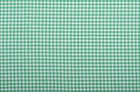 Checkered fabric closeup - series - green. Good for background. Stock Photo - 17601112