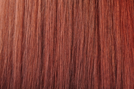 flaxen: beautiful healthy shiny red hair texture