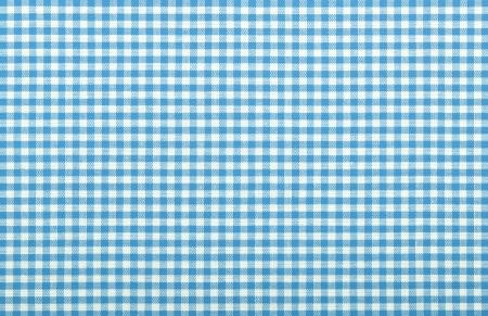 blue checkered fabric closeup , tablecloth texture Stock Photo - 18093888