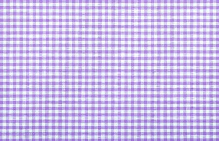 violet checkered fabric closeup , tablecloth texture Stock Photo - 18093882