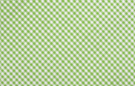 green checkered fabric closeup , tablecloth texture photo