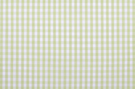 light green checkered fabric closeup , tablecloth texture photo
