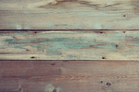 vintage timber: Blue painted wooden background. Wooden texture.