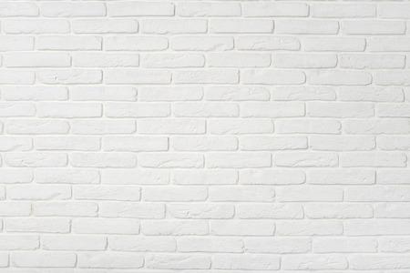 Textura branca da parede de tijolo. Pode usar como pano de fundo.