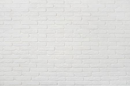 白いレンガの壁のテクスチャ。背景として使用できます。