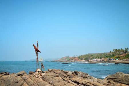 Beautiful landscape of Goa in Vagator, India Stock Photo