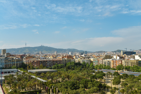 View From Arenas De Barcelona - Plaza de Toros De Las Arenas, Barcelona, Catalonia, Spain, Europe Reklamní fotografie