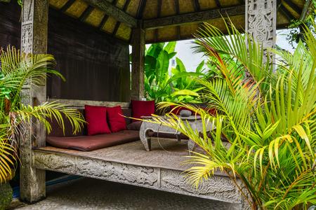Cozy gazebo near traditional balinese house for rent, Ubud, Indonesia