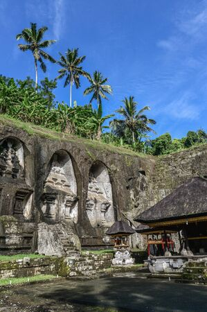 Hindu Temple Pura Gunung Kawi Known for its shrines carved out of a cliff, Bali, Indonesia
