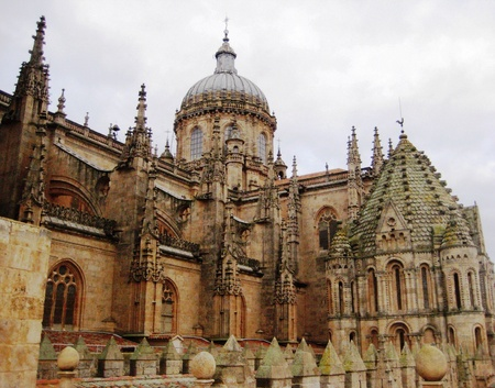 salamanca: Salamanca cathedral, Spain