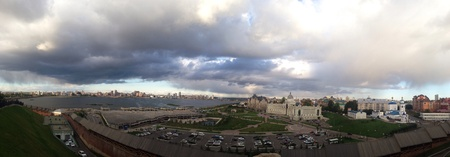 kazan: Panoramic view of Kazan, Russia