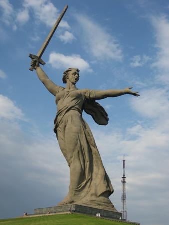 volgograd: Motherland statue in Volgograd