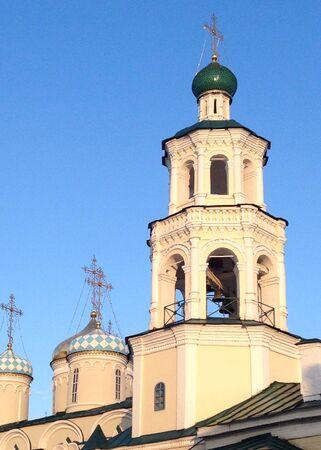 kazan: Orthodox church in Kazan, Russia Stock Photo
