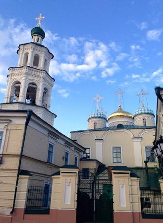 orthodox: Orthodox church in Kazan, Russia Stock Photo