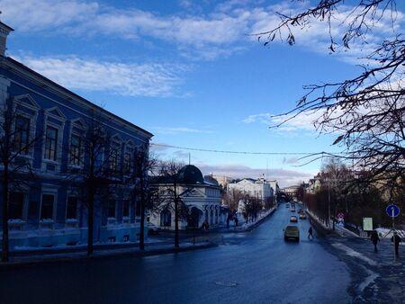 kazan: Street in Kazan, Russia