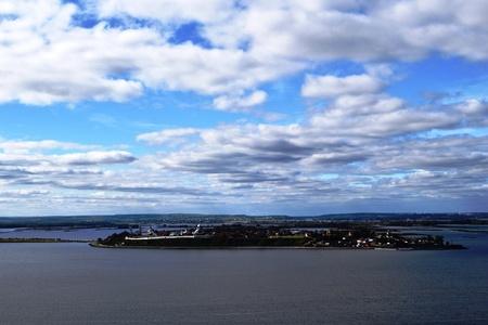 volga river: Sviyazhsk island on Volga River near Kazan, Russia Stock Photo