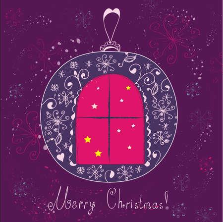 Christmas ball Stock Vector - 8276359
