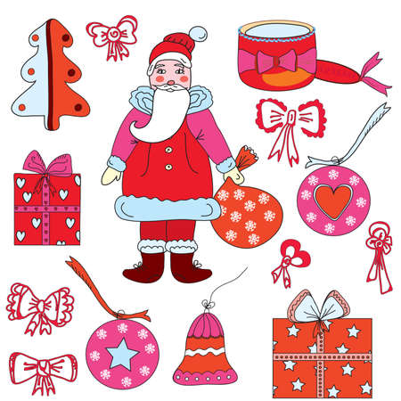 Christmas decoration set Stock Vector - 8276316