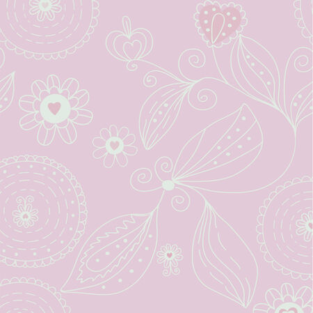 Floral background in pastel colors Stock Vector - 8356977